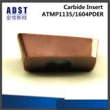 Inserto di macinazione cementato di CNC del carburo di tungsteno per gli utensili per il taglio
