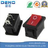 3 interruptor de eje de balancín rojo del Pin 16A 250V