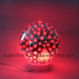 3D eléctrico ultrasónico romántico mágico Glass&Nbsp; with&Nbsp del difusor del aroma del petróleo esencial; Niebla fría