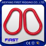 G341 schmiedete Birnen-Form-Link mit dem Plastiksprühen
