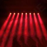 8 Lichte LEIDENE van de Disco van DJ van het Stadium van ogen Bewegende HoofdStaaf