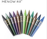 Crayon lecteur imperméable à l'eau de ligneur de point culminant de perle de Menow pour la couleur de l'ombre d'oeil 12