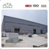 Edificio prefabricado confeccionado del almacén del taller de la fábrica de la estructura de acero del mástil