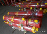 Cilindro idraulico del tubo trasversale professionale su ordinazione