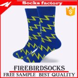 Großhandelskleid-Baumwollheiße Art-Socken, die Kleid-Socken stricken