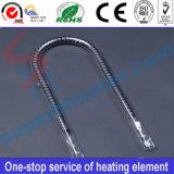 Elementi riscaldanti infrarossi del riscaldatore del quarzo nelle applicazioni industriali