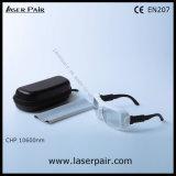 9000 - Laserpairからの11000nm Od 6+のレーザーの安全のガラス製の義眼の安全ガラス