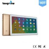 OEM de qualité de Longview 10.1 carte SIM duelle du support GPS FM Bluetooth de tablettes d'appel téléphonique de la tablette 3G de pouce