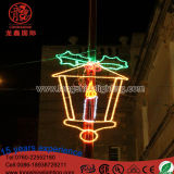 LED Lighting 2D Outdoor Kuwait National Decoration Pole Reason Light