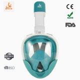 BSCI Anti-Fog Waterprrof personnalisées Masque Tuba Masque facial intégral