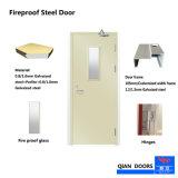 最もよい価格鋼鉄部屋のガラス眺めの等しくない両開きドアの耐火性の出入口