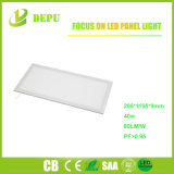 30X120 La luz del panel LED rectangular 36W 40W 48W 80lm/W luz del panel de LED ultra delgado