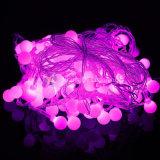 LED-Kugel-Zeichenkette-Licht unveränderlich oder RGB-veränderbare Farbe
