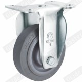 Support de roue gris TPR devoir Roulette industrielle