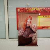As vendas de Natal para utilização em interiores de impressão FINE Fabric pendurado na parede rolar