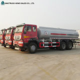 Capacidad del carro de petrolero del combustible de Sinotruk HOWO 20m3