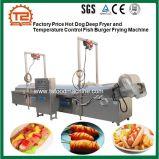 Hamburger profondo della friggitrice del hot dog di prezzi di fabbrica e dei pesci di controllo di temperatura che frigge macchina