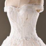 weg Schulter-Spitze-vom Brauthochzeits-Kleid