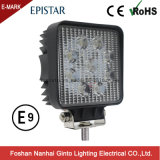 Emark 27W Spot/Flood Square Epistar LED Working Lamp (GT1007-27W)