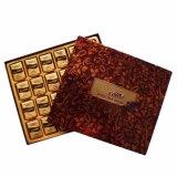 Casella impaccante del mestiere di carta del cioccolato del cioccolato di lusso all'ingrosso di natale per l'imballaggio per alimenti