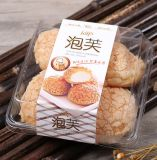 Forno che imballa il contenitore della torta del commestibile della scatola di plastica del pane del forno impaccante del Croissant