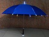 Gerader Regenschirm des populärer spezieller Großhandelsentwurfs-heller Licht-LED