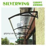 Material de construcción de bricolaje de aleación de aluminio toldo toldos Cortinas de lluvia
