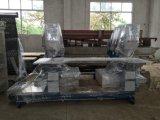 드릴링 기계가 공장 공급 유리제 두 배에 의하여 구멍을 판다