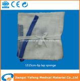 De medische Absorberende Spons 15X15cm-6ply van de Overlapping