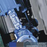 Form-Stahl PTFE/PFA/FEP ausgekleidetes gerade zwar Diapgragm Ventil