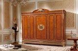 0062-2 Europ klassische feste Buchenholz-Schlafzimmer-Möbel für Landhaus