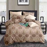 贅沢な光沢がある印刷された西部の寝具は卸しでセットする