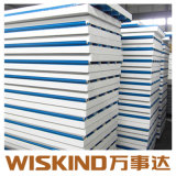 Cold Room EPS/Rockwool/PU Сэндвич панели, Wideth 500мм-1150мм