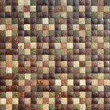 mattonelle di mosaico naturali delle coperture della noce di cocco di formato del chip di 400*400mm