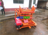 Подвижная4-45 Qmy полой конкретные производстве кирпича машины