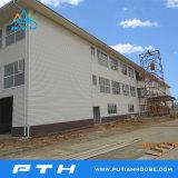 2016 het Geprefabriceerde Industriële Pakhuis van de Structuur van het Staal van het Ontwerp van Pth