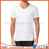 T-shirt ordinaire unisexe estampé par logo confortable neuf