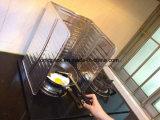 El panel de cocinar de aluminio medio con la impresión