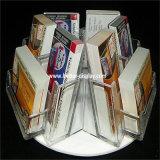 Organizador plástico acrílico do arquivo do escritório