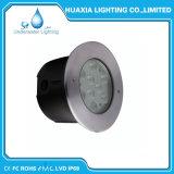 Indicatori luminosi subacquei bianchi del raggruppamento dell'acciaio inossidabile LED di RGB