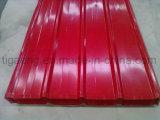최고 수준 사다리꼴 PPGI 강철 루핑 격판덮개