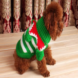 귀여운 만화 크리스마스 개는 격렬한 겨울 귀여운 테디 강아지 낙하산 강하복을 입는다