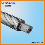 6 parties bourrant le coupeur annulaire d'acier à coupe rapide