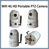 Camera van kabeltelevisie PTZ IP van het Netwerk van WiFi 4G HD van de veiligheid de Draagbare
