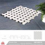 Material de construção de piscina em mosaico cerâmico Tile (VMC48M102, 300x300mm+23X48X6mm/10X10X6)