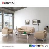 Sofà del cuoio dello strato delle forniture di ufficio di Orizeal piccolo (OZ-OSF009)