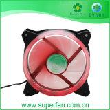 120mm ventilateur LED de couleur unique, PC de ventilateur du boîtier du refroidisseur