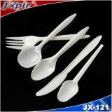 Wit Beschikbaar Plastic Bestek Jx121