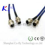 С фланцами M12 2, 3, 4, 5, 6, 8, 12, 17 Контакт Pg9 разъем Разъем с кабелем
