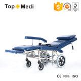 年配者のための手動横たわる車椅子を折る病院装置の新しいアルミニウム